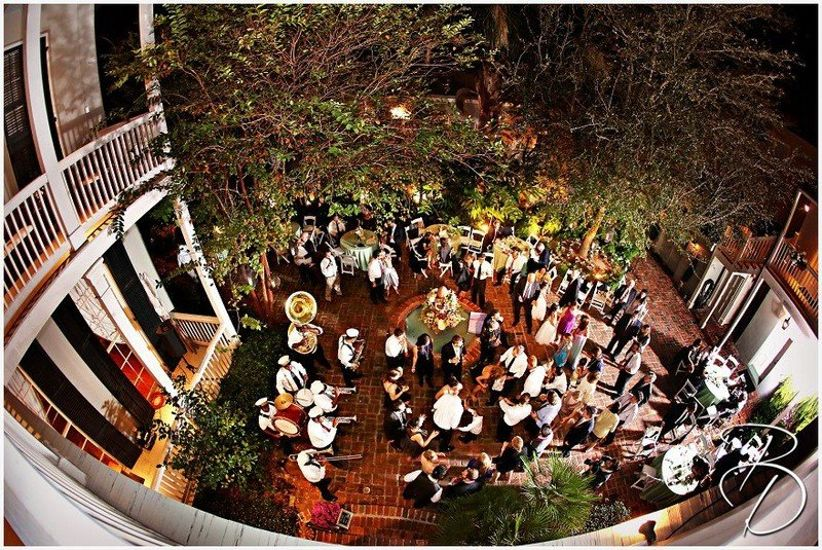Terrell House outdoor wedding venue in new orleans