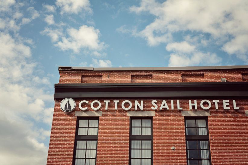 The Cotton Sail Hotel Savannah wedding venue