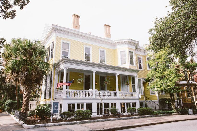 Forsyth Park Inn Savannah wedding venue