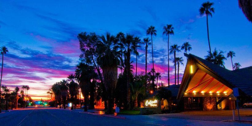 Desert wedding venues palm springs caliente tropics