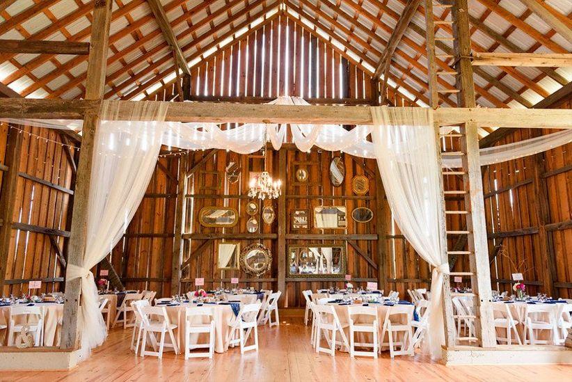 8 Rustic Barn Wedding Venues Near Roanoke Virginia - WeddingWire