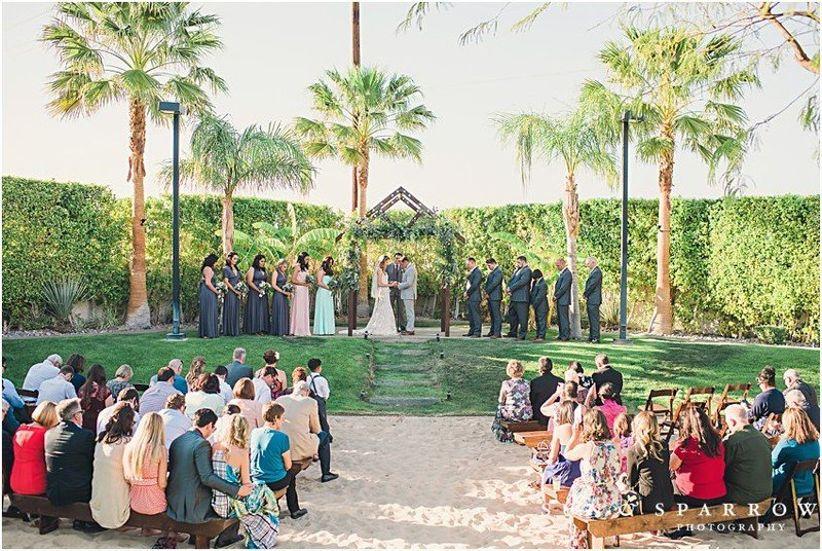 Palm Springs wedding estates Galvan Estate