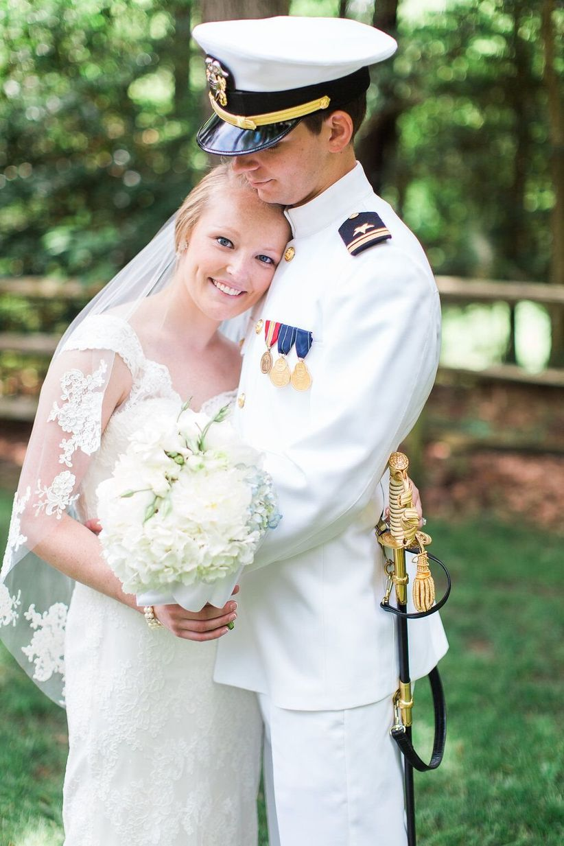 12 of Our Favorite Real Military Weddings - WeddingWire