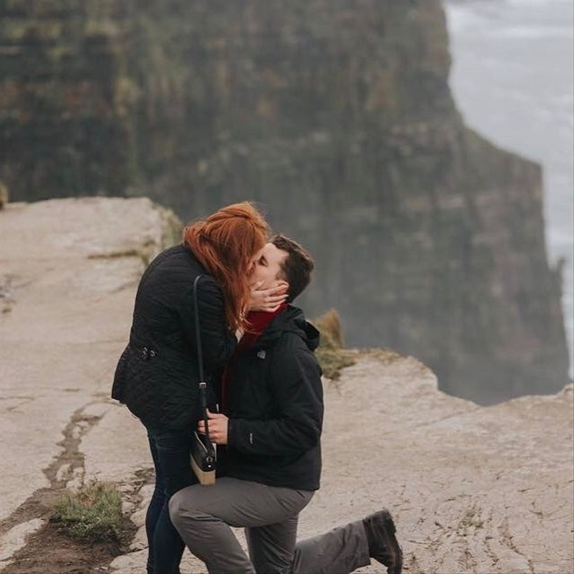 Cliffs of Moher proposal idea
