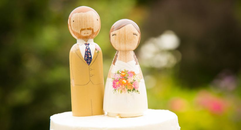 The 11 Types of Wedding Cake Toppers You Need to Know - WeddingWire