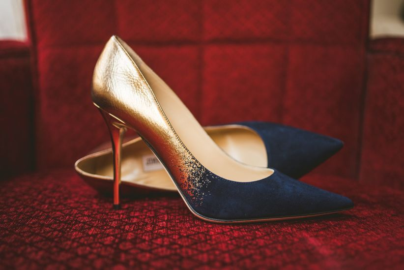 eeb467f23d5a How to Find the Right Wedding Shoes - WeddingWire