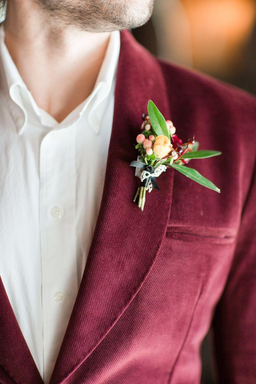 close up of groom