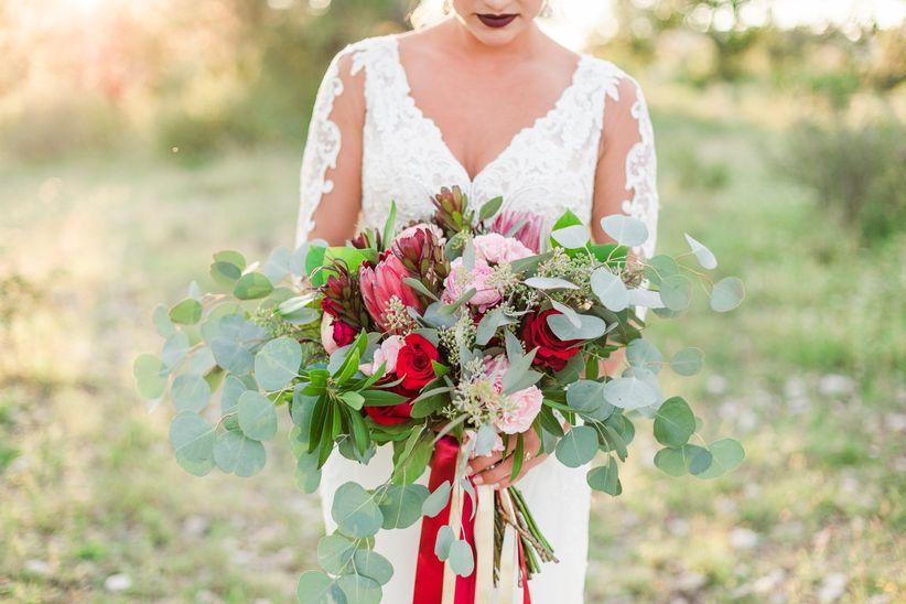 oversized fall bouquet