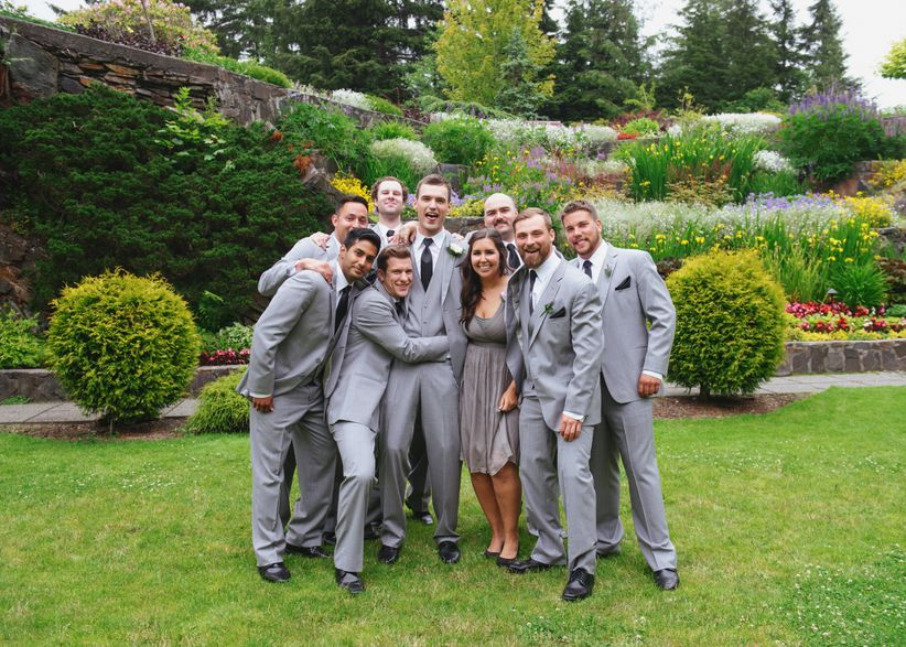 groomswoman wedding party