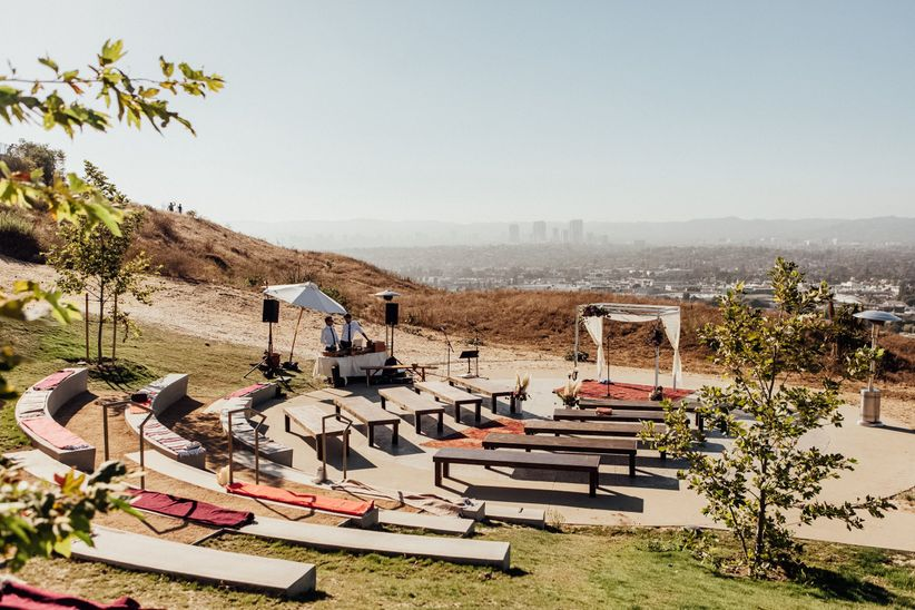 outdoor venue in California
