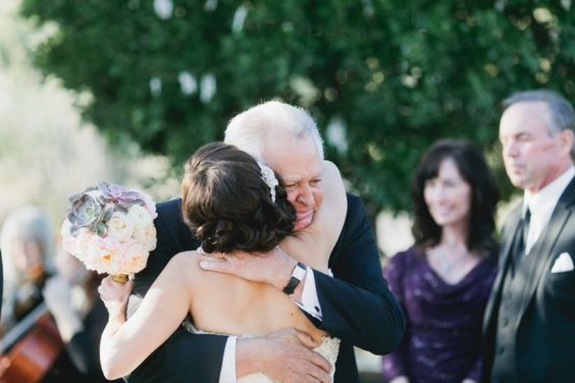 Andrew + Jade [Photography] - hugging grandfather