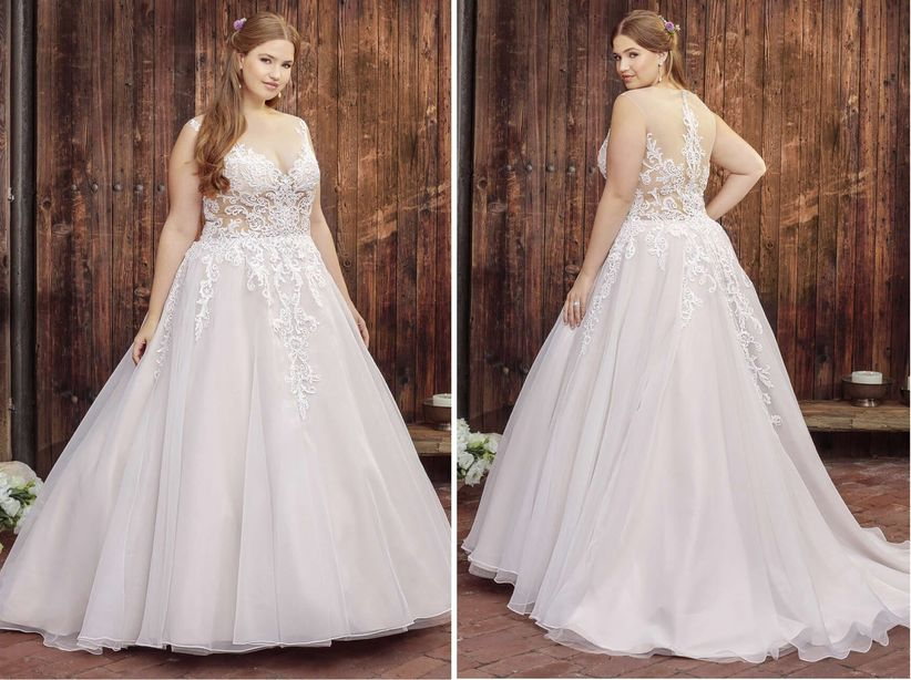 The best wedding dresses for your body type weddingwire dress beloved by casablanca bridal style bl249 coral junglespirit Choice Image