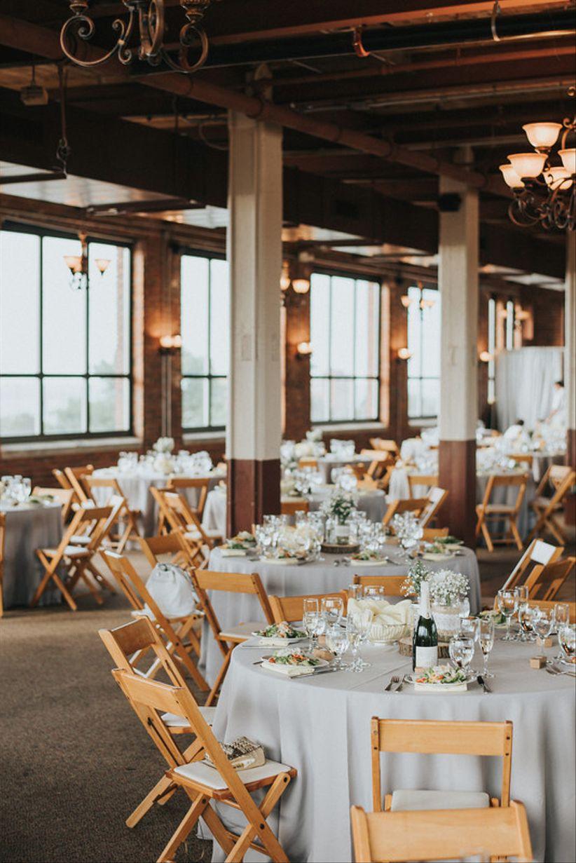 modern Cleveland wedding reception venue on Lake Erie