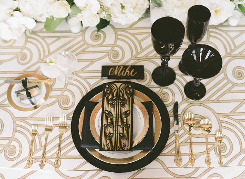 Now THIS Is How You Pull Off a Gatsby-Inspired Wedding - WeddingWire