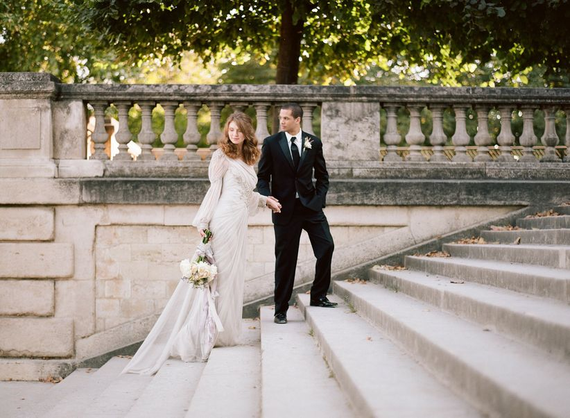 Transport yourself to the City of Love with these oh-so-romantic Paris themed wedding ideas.