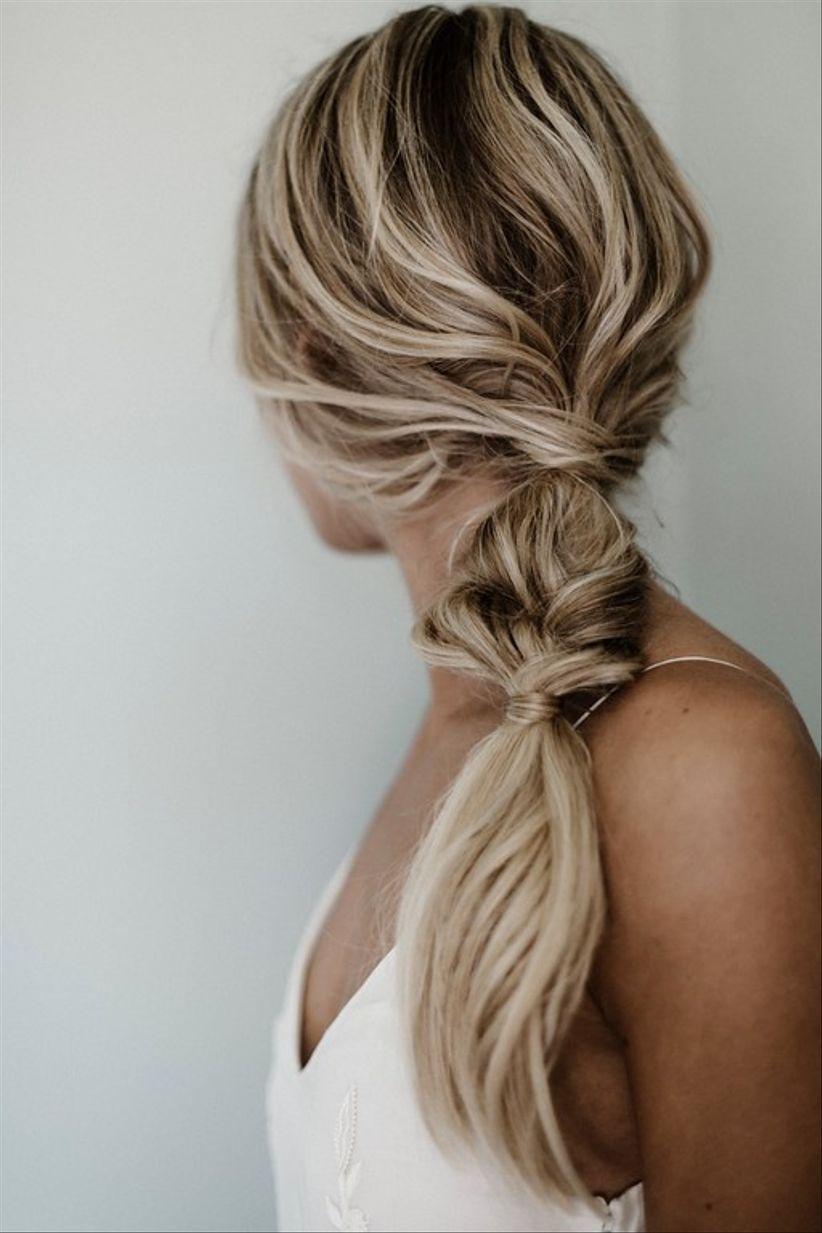 bridesmaid updo hairstyle