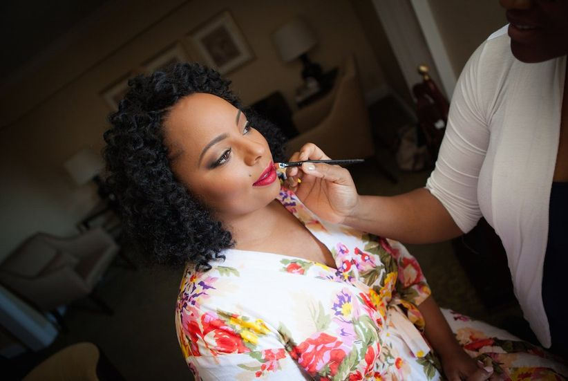 bride wedding makeup artist