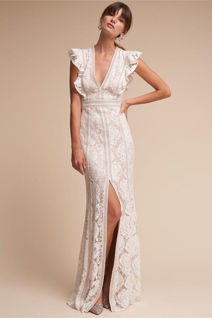 placid wedding dress bhldn