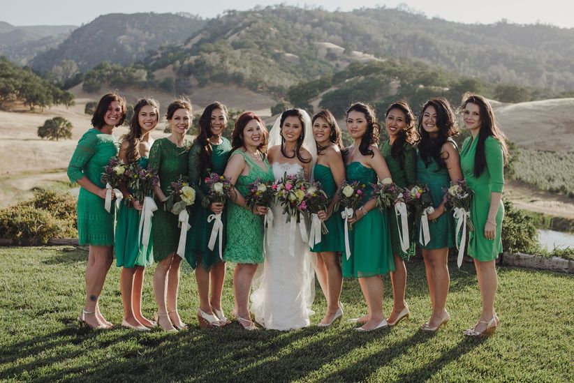 c205ef93c263 7 Things to Consider While Bridesmaid Dress Shopping - WeddingWire