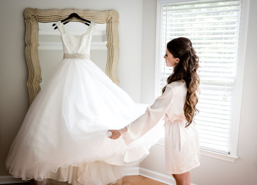 The 5 Most Common Wedding Dress Stains—and How to Fix Them - WeddingWire