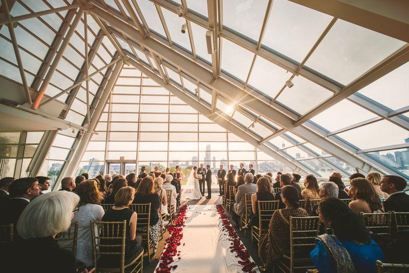 wedding ceremony planetarium