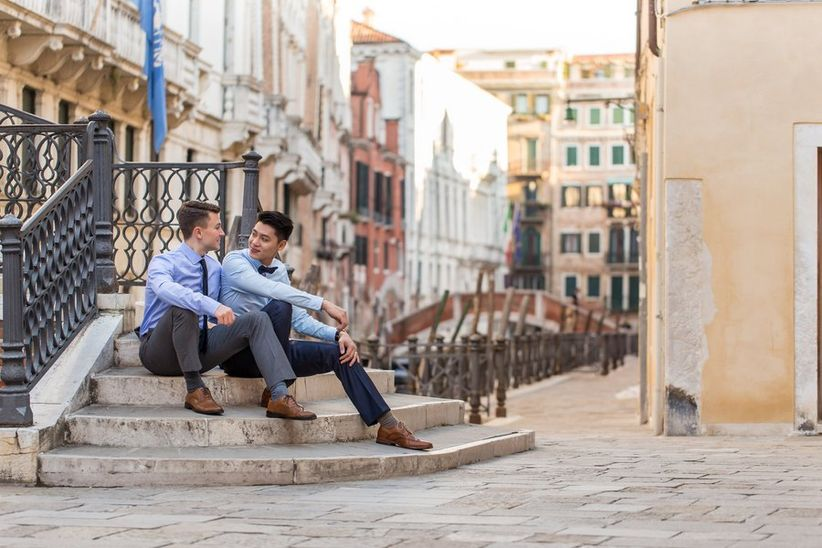 gay marriage proposal venice