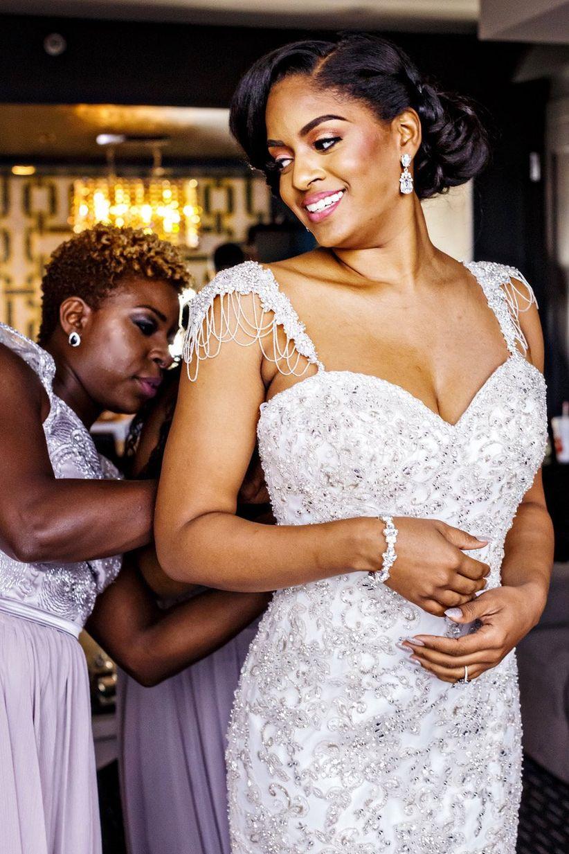 16 Modern Wedding Hairstyles for Black Brides - WeddingWire