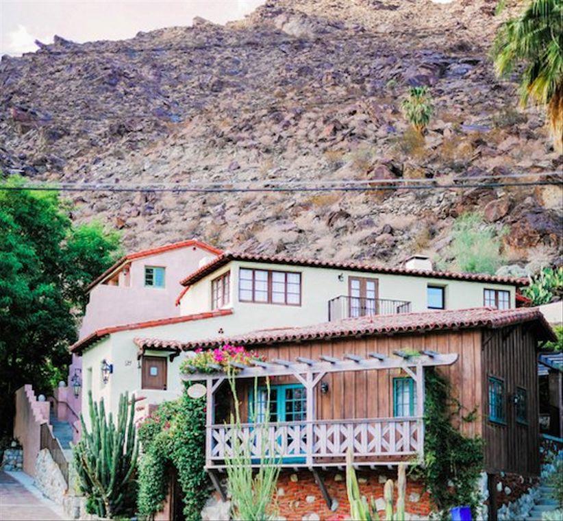Palm Springs wedding estates Colony 29
