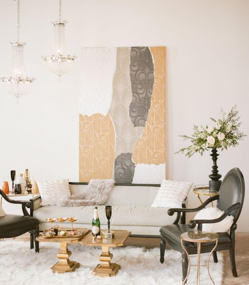 Wedding lounge area ideas