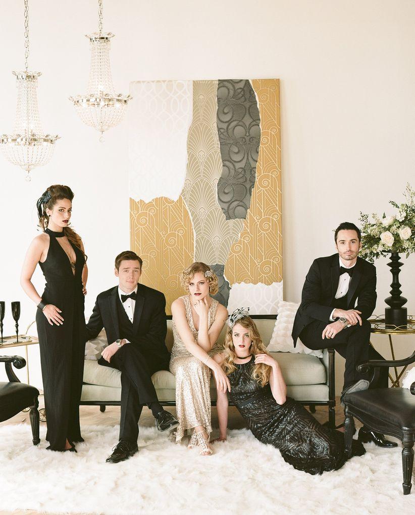 Gatsby wedding guest attire