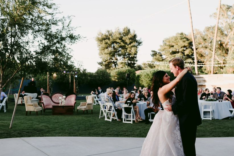 This is Why a Cocktail-Style Wedding Reception Rocks