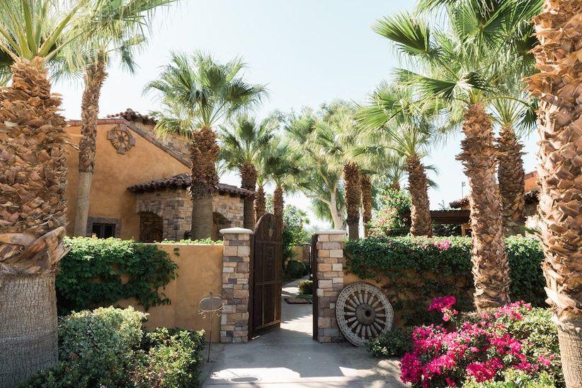 Palm Springs wedding estates desert ridge