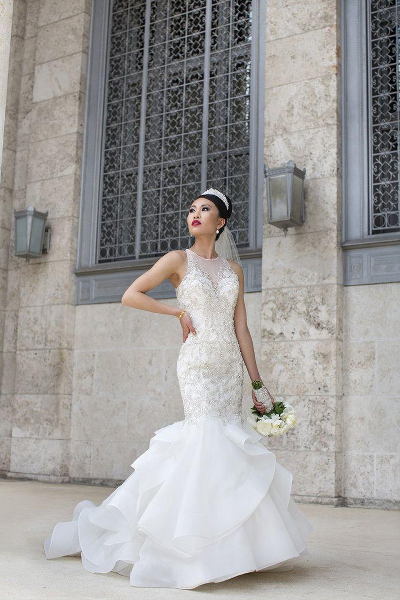Fotografía de boda de moda
