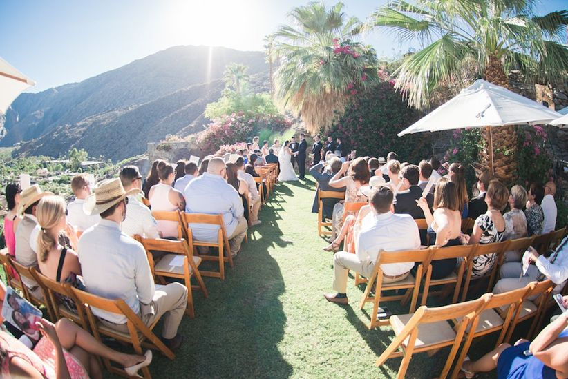 6 Palm Springs Desert Wedding Venues With Sick Views Weddingwire