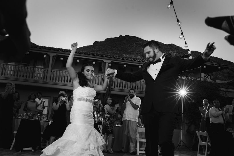 desert wedding venues palm springs o'donnell house dancing