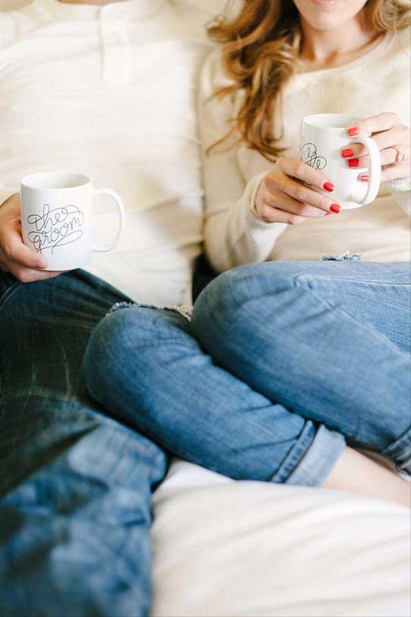 engagement photo mugs