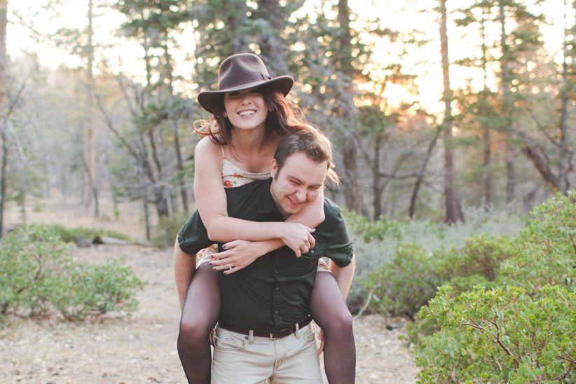 couple engagement photos
