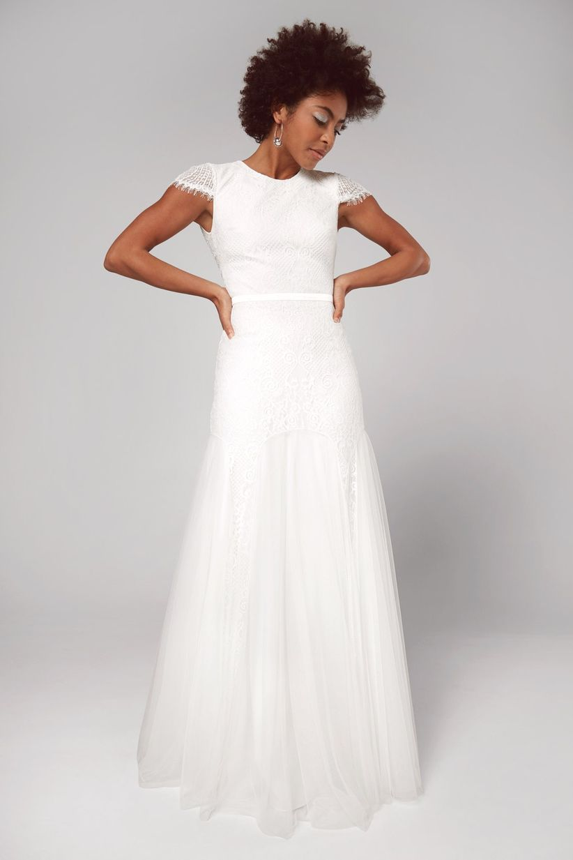 fame and partners wedding dress