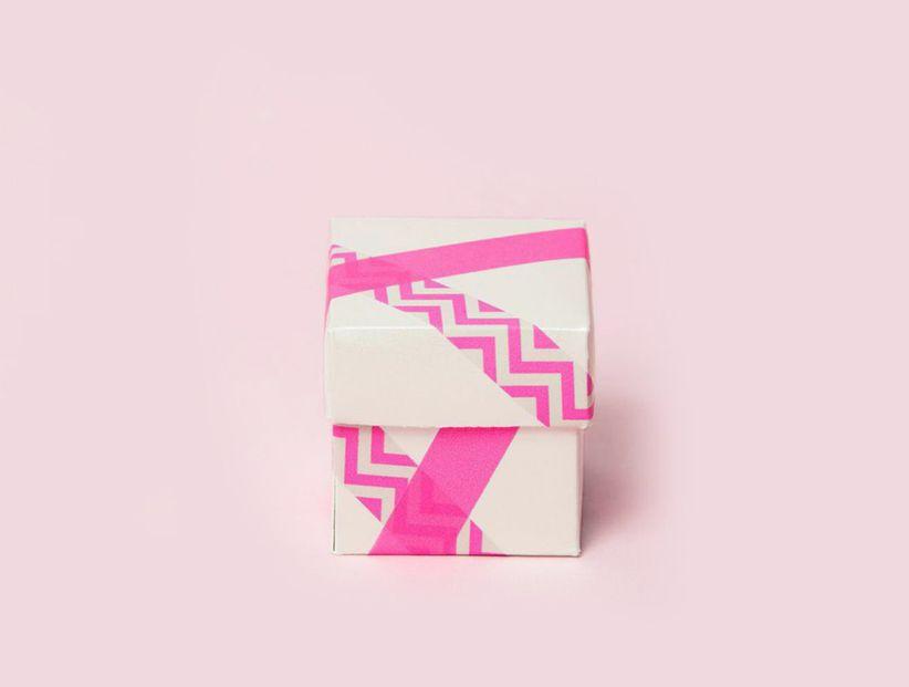 washi tape diy favor box