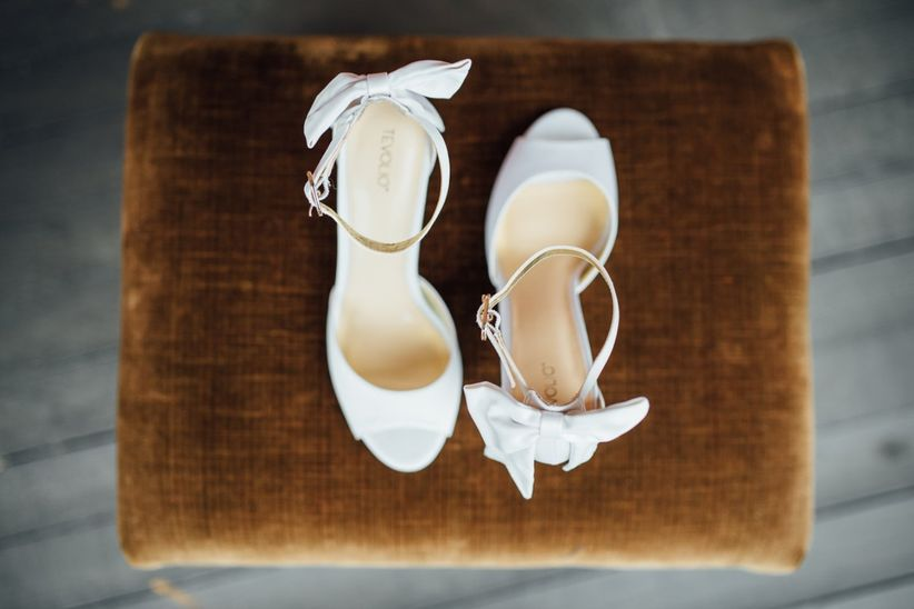 9a7a05167 How to Find the Right Wedding Shoes - WeddingWire