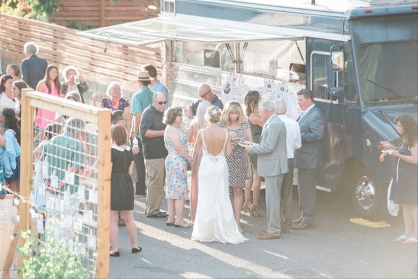 Seattle food trucks wedding catering