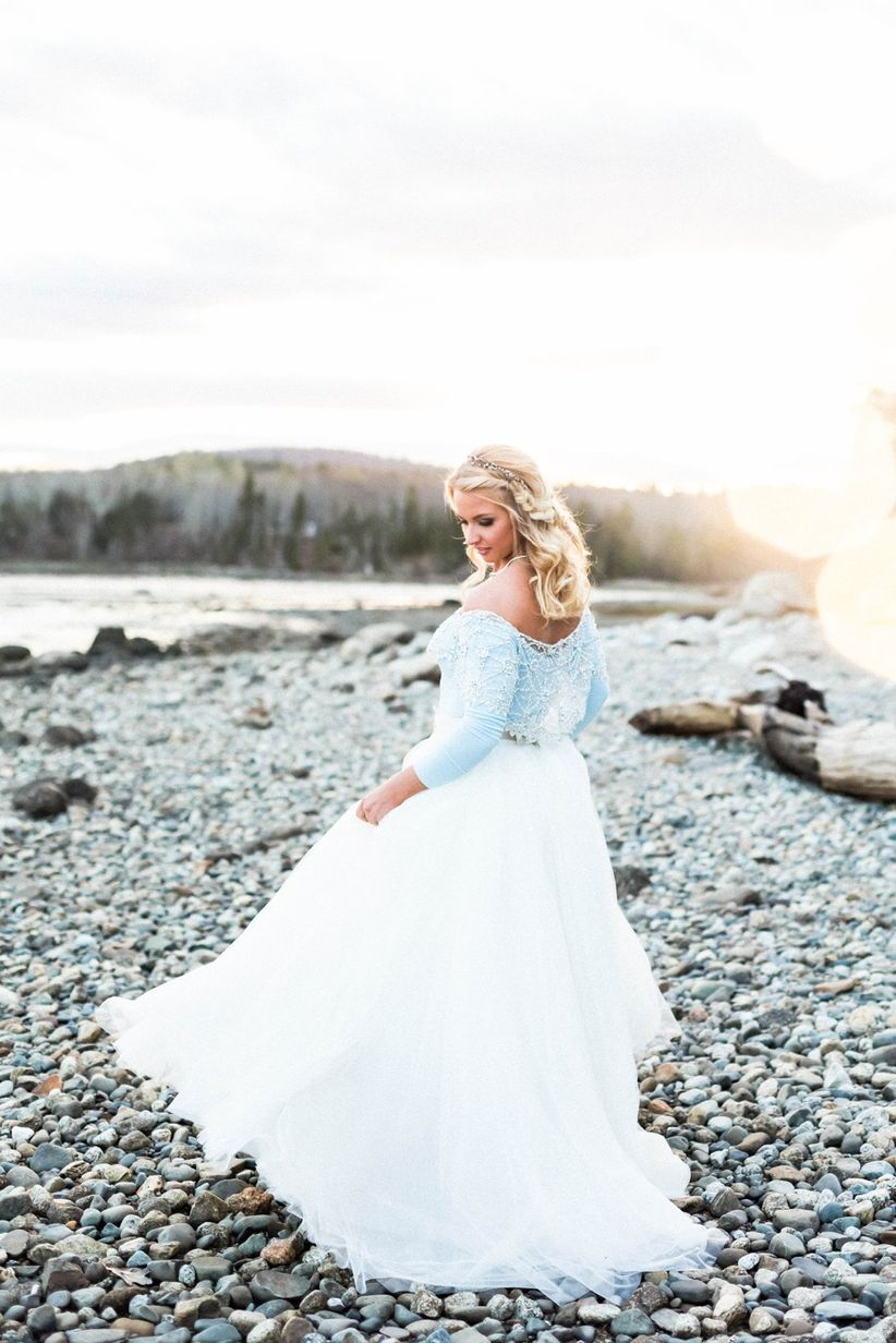 Ethereal Coastal Maine Styled Shoot