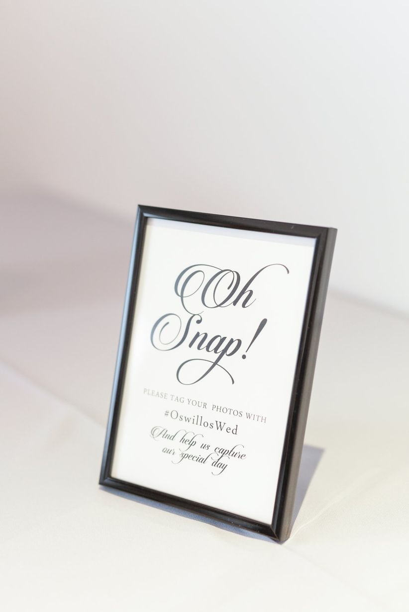 15 Funny Wedding Signs That Will Make Your Guests LOL - WeddingWire