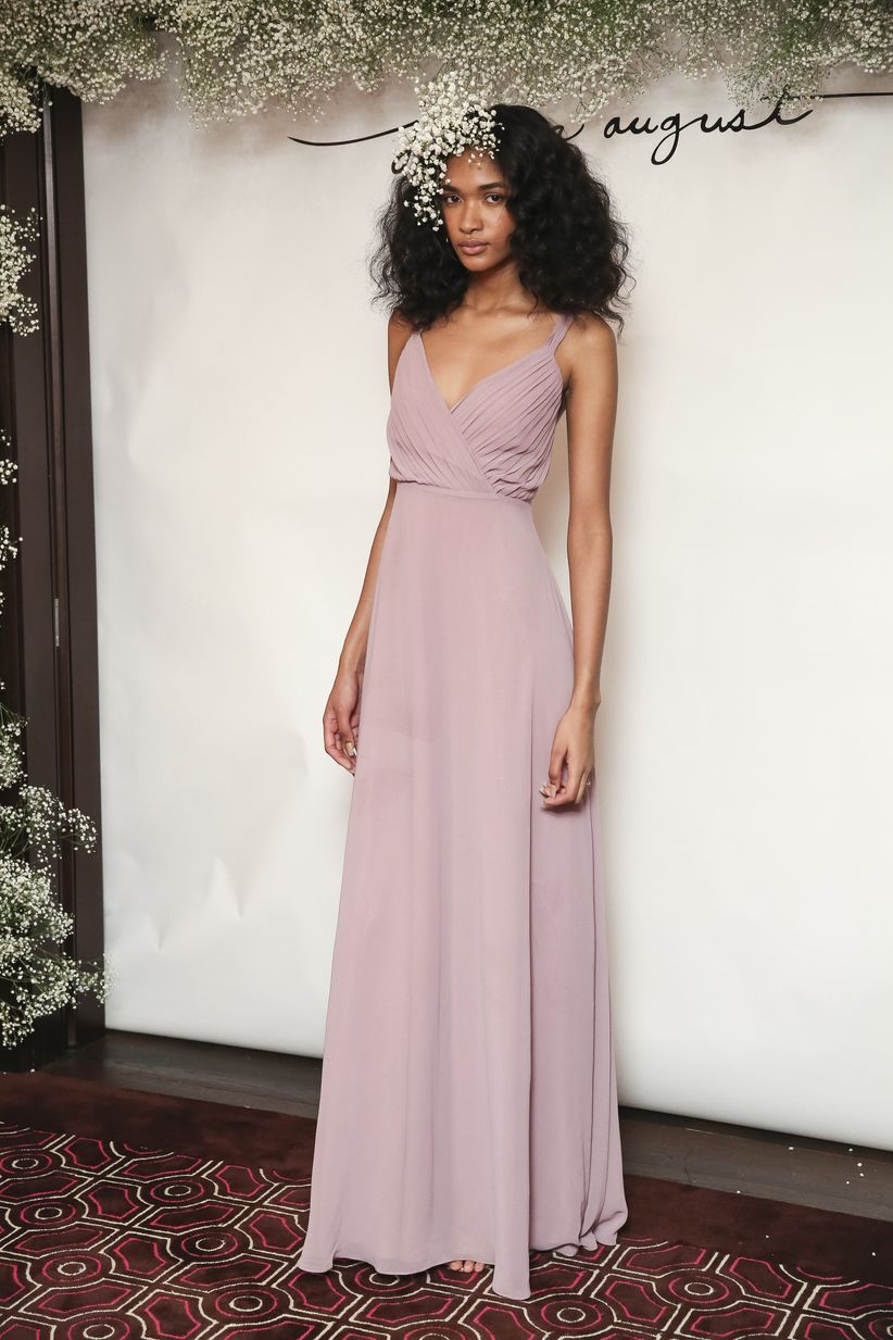 The 2018 bridesmaid dresses have arrived weddingwire these 2018 bridesmaid dresses are totally changing the game for all the maids ombrellifo Images