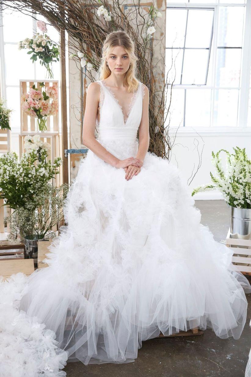Marchesa fall 2018 wedding dresses