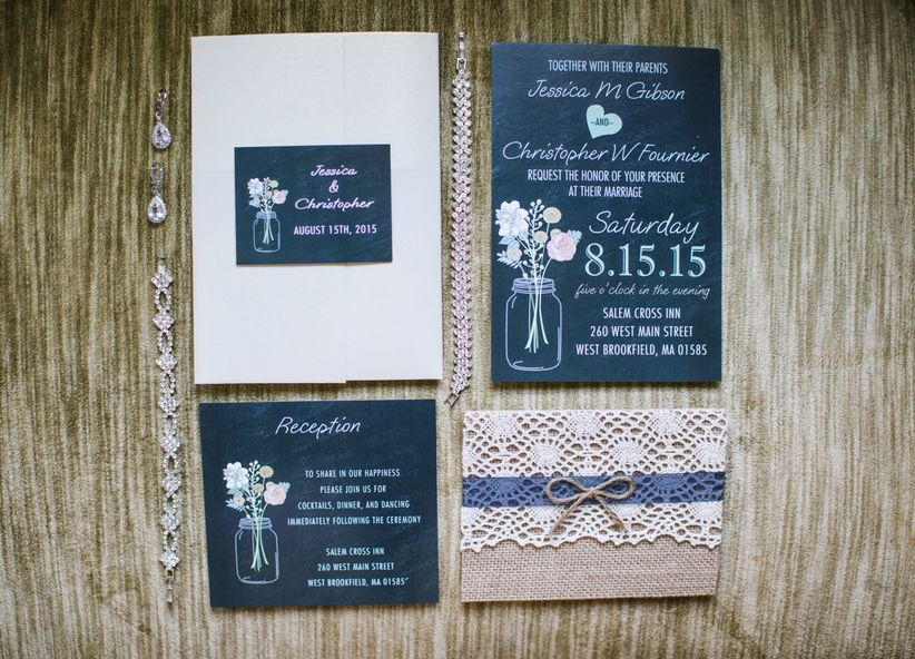 How to politely decline a wedding invitation weddingwire shabby chic wedding invitation suite stopboris Images