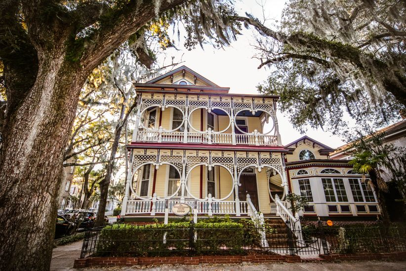 The Gingerbread House Savannah wedding venue