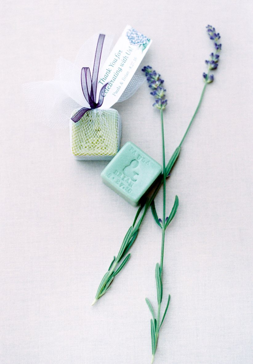 Summer wedding favor ideas - handmade soaps