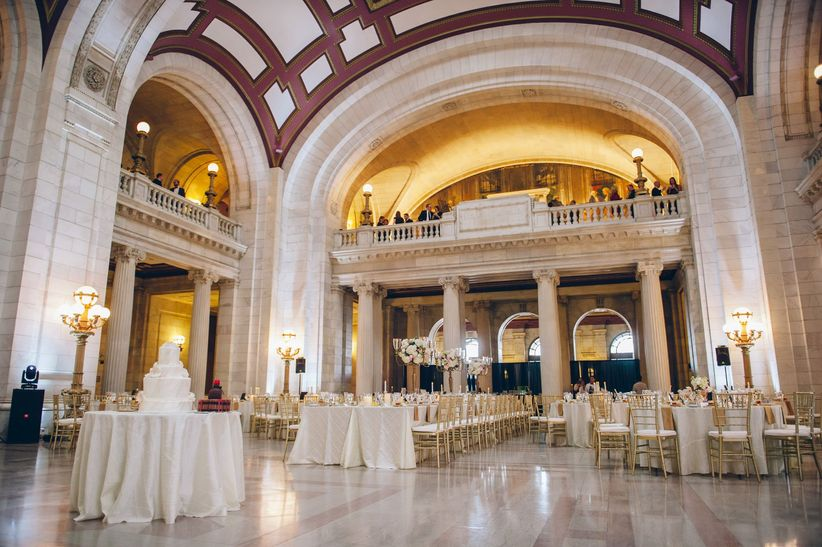 government building wedding venue
