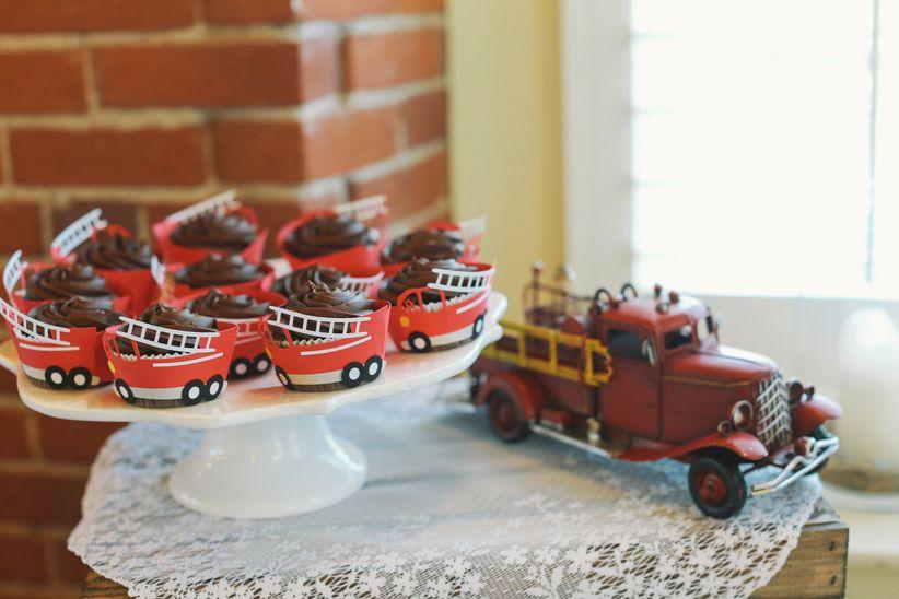groom's cake cupcake